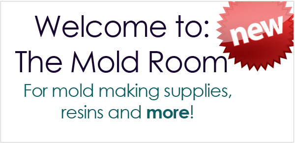 Introducing our new mold room for mold making resins and more