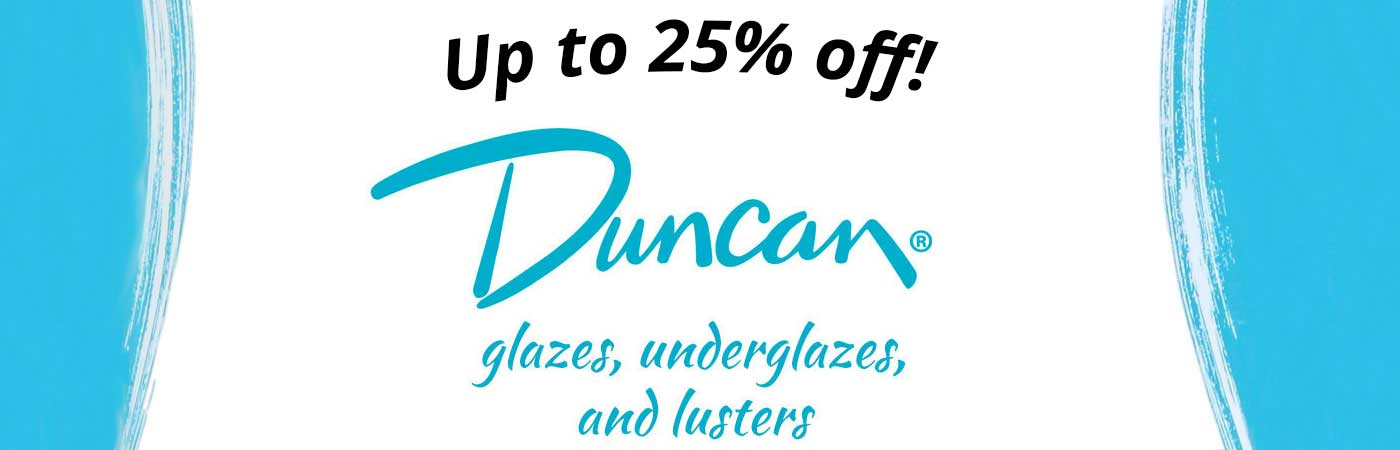 duncan underglazes overglaze low fire discounted sale