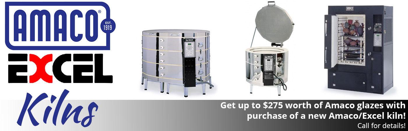 amaco excel kilns discounted