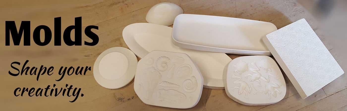 Molds - The Ceramic Shop