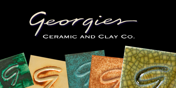 georgies, georgies glaze, georgies wash, interactive pigments, cone 6 glaze, sculptural textural