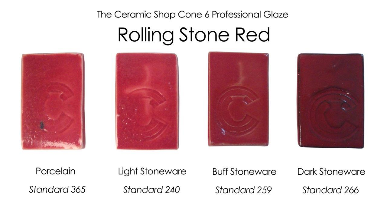 The ceramic shop glazes the ceramic shop rollingstone red glaze the ceramic shop cone 6 professional glaze nvjuhfo Image collections