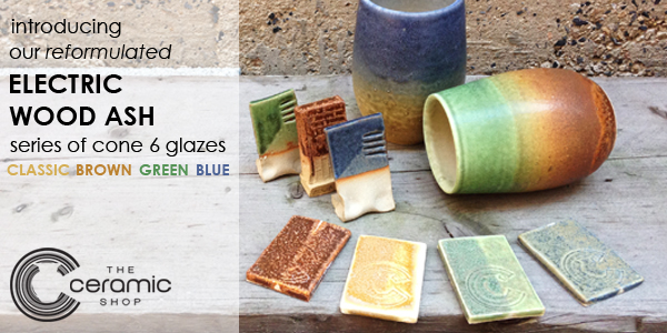 Professional Series Cone 6 pottery glazes at The Ceramic Shop