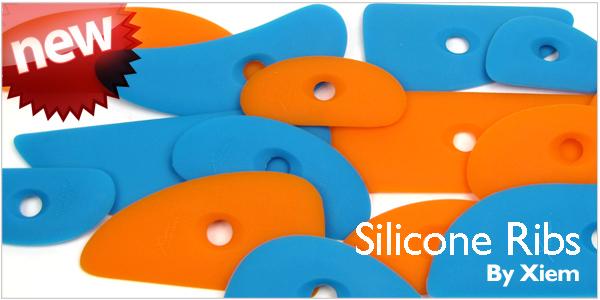 Xiem silicon ribs handbuilding